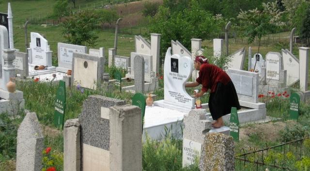 Romani grave markers 2007